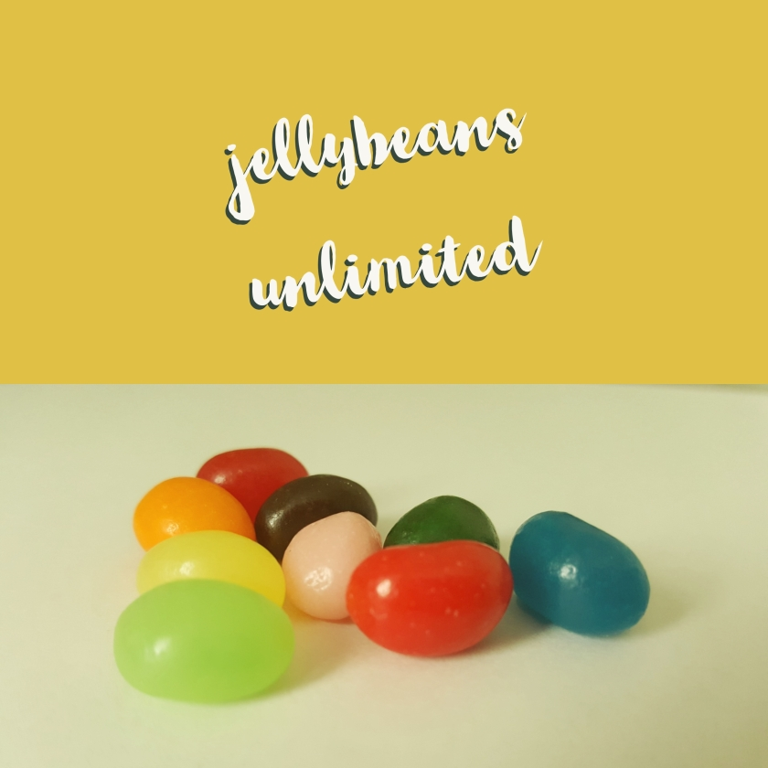 Graphic with jelly beans